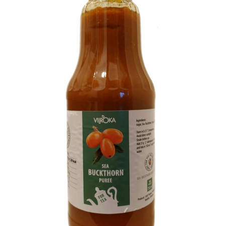 Sea Buckthorn puree, 750ml / VEGAN