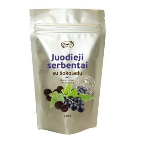 Chocolate covered black currant, 100 g