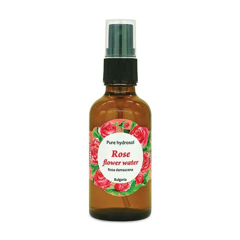 aromáma Pure hydrosol Rose flower water 50 ml VEGAN