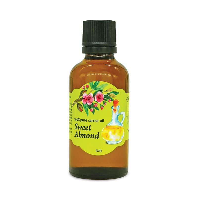 aromáma 100% pure carrier oil Sweet Almond 50 ml VEGAN