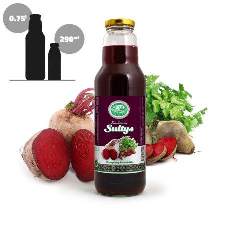 Fermented Beetroot Juice, 3 x 750 ml glass / VEGAN