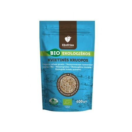 Organic Crushed Wheat Groats, 400g / VEGAN