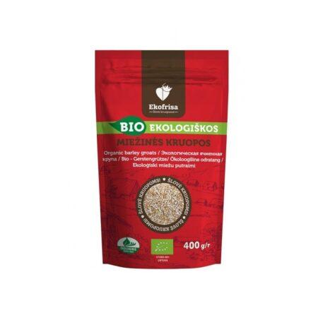 Organic Crushed Barley Groats, 400g / VEGAN