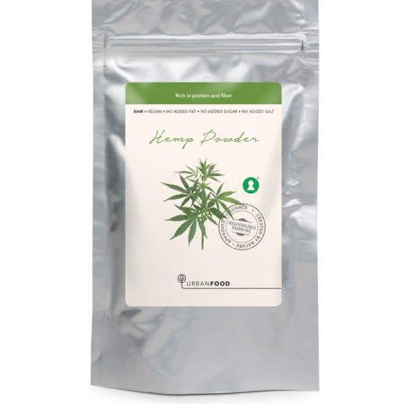 HEMP PROTEIN POWDER, RAW, 200 G. / VEGAN